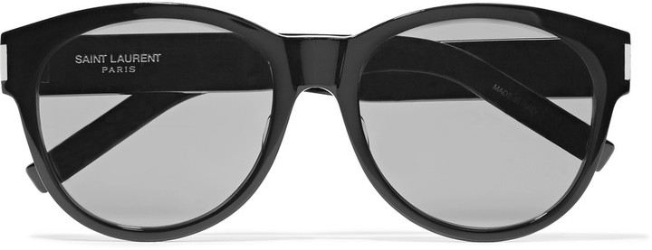 Saint Laurent Saint Laurent SL 67 round-frame acetate sunglasses