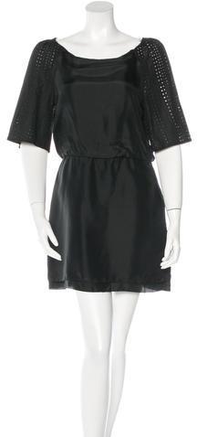 3.1 Phillip Lim3.1 Phillip Lim Eyelet-Paneled Mini Dress