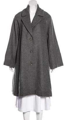 Co Wool-Blend Long Coat