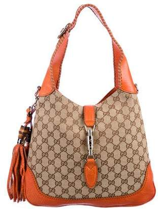 Gucci GG Canvas New Jackie Hobo
