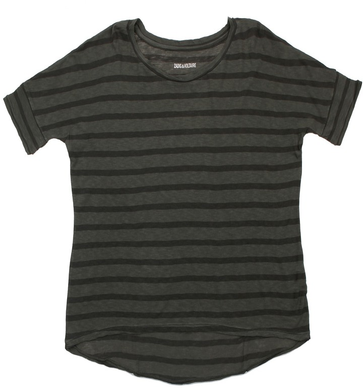 Zadig & Voltaire T Shirt Cubo Striped