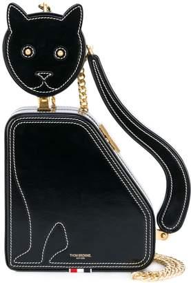 Thom Browne CAT ICON CALFSKIN CLUTCH BAG