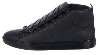 Balenciaga Arena Python Sneakers w/ Tags
