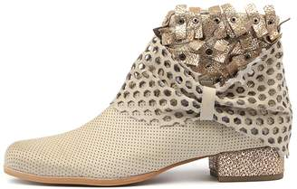 Django & Juliette Lush Black-pewter Boots Womens Shoes Ankle Boots