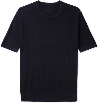 P. Johnson Textured Pima Cotton T-Shirt