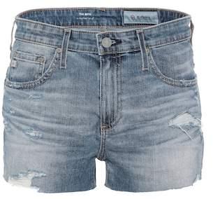 AG Jeans The Bryn ex-boyfriend cut-off shorts