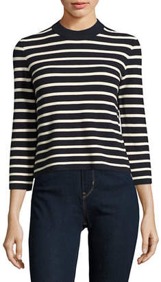Theory Lemdora Striped Top