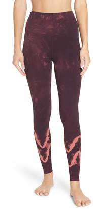 Electric & Rose Sunset Tie Dye Leggings