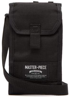 MASTERPIECE Master Piece Camouflage Lined Cross Body Bag - Mens - Black