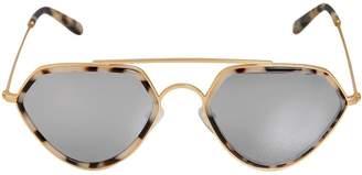 Marble Acetate Aviator Sunglasses