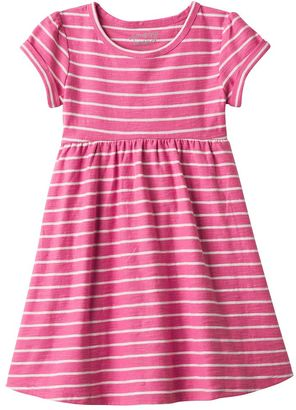 Toddler Girl Jumping Beans® Striped Roll Cuff Dress $20 thestylecure.com