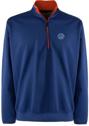 Antigua Men's Boise State Broncos 1/4-Zip Leader Pullover - Men
