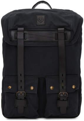 Belstaff Black Colonial Backpack