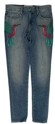 Sandrine Rose Mid-Rise Skinny Jeans w/ Tags