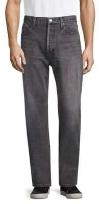 Balenciaga Dirty Grey Straight Leg Jeans
