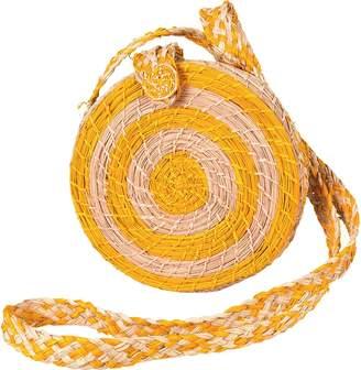 Kaanas Akumal Woven Circle Crossbody Purse - Women's