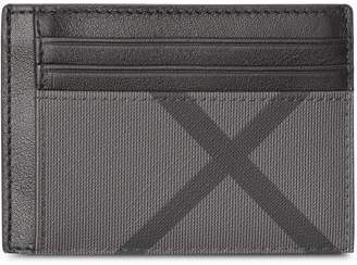 Burberry money clip card case