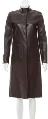 Prada Reversible Leather Coat
