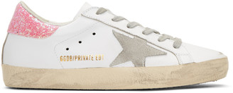 Golden Goose SSENSE Exclusive White Superstar Sneakers $495 thestylecure.com