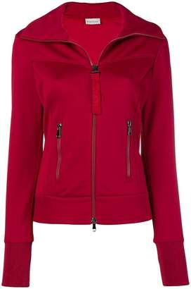 Moncler high neck fitted jacket