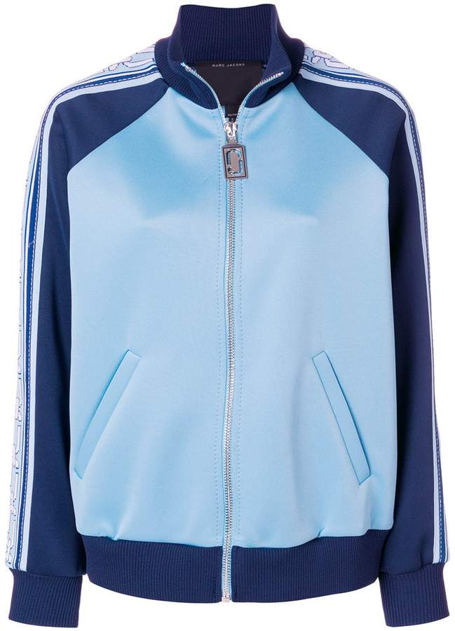 colour-block track jacket