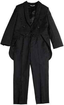 Dolce & Gabbana Wool Blend Tailcoat & Pants