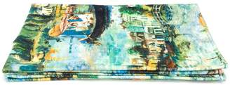 Off-White Impressionist print towel