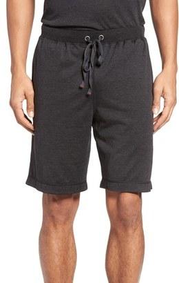 Men's Daniel Buchler Silk & Cotton Lounge Shorts $105 thestylecure.com