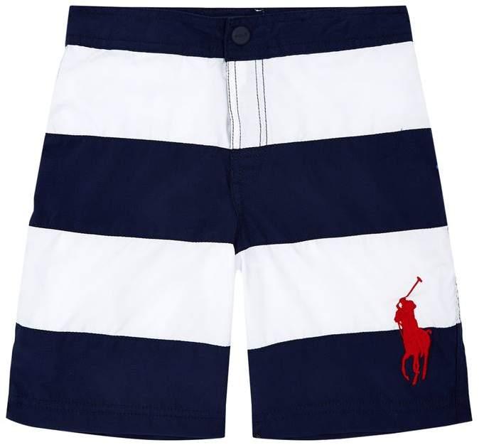 Large Stripes Swim Shorts