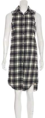 Jenni Kayne Plaid Shirt Dress