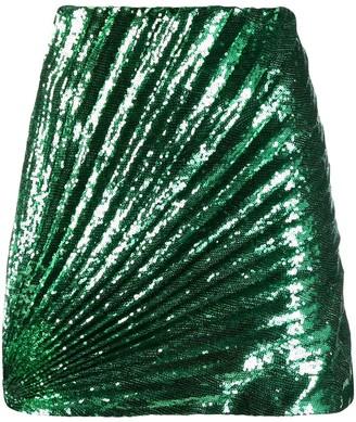 Marco De Vincenzo sequin embellished mini skirt
