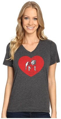 Life is good Georgia Heart Short Sleeve Tee $32 thestylecure.com