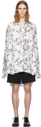 Ann Demeulemeester White Victoria Blossom Shirt