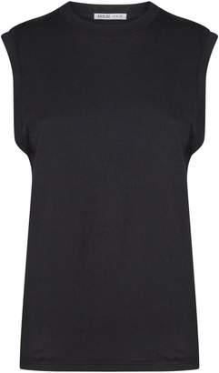A Gold E Agolde Cotton Muscle Vest