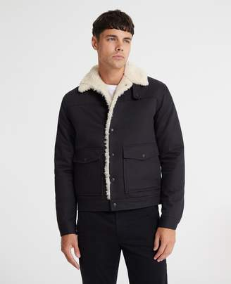 AG Jeans The Silo Shearling Lined Jacket