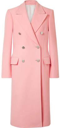 Calvin Klein Cotton-velvet Coat - Pastel pink