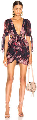 Alice McCall Only Everything Mini Dress in Ink | FWRD