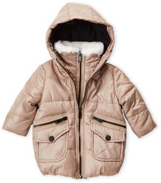 6e5e9da18 Girls Faux Hooded Coats - ShopStyle