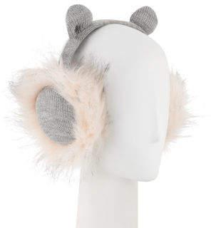 Karl Lagerfeld Kitty Faux-Fur Earmuffs