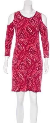 MICHAEL Michael Kors Cold Shoulder Mini Dress
