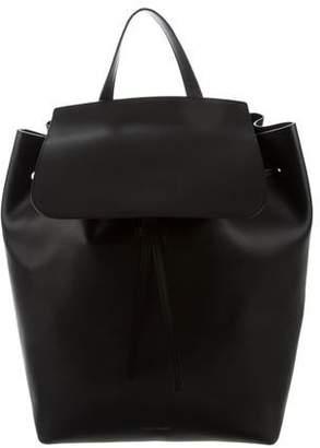 Mansur Gavriel Large Leather Backpack