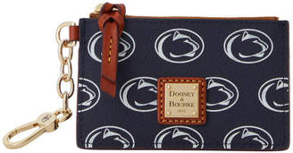 Dooney & Bourke NCAA Penn State Zip Top Card Case