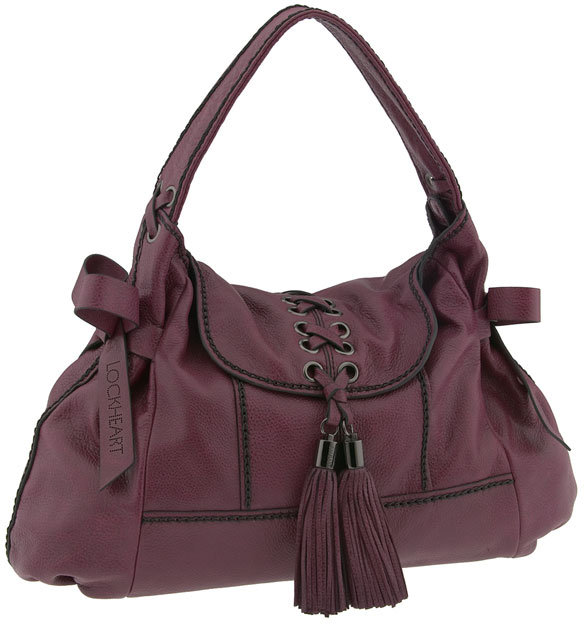 Lockheart 'Stitch in Time  Megan' Flap Hobo