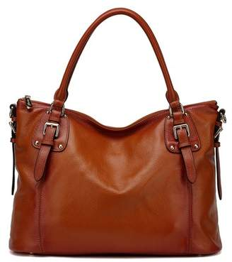 Vicenzo Leather Ryder Leather Shoulder Tote Handbag
