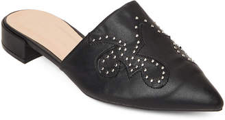Wild Diva Lounge Anna Western Studded Mules
