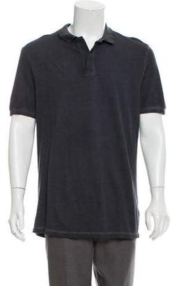 Tomas Maier Distressed Polo Shirt