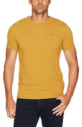 Tommy Hilfiger Men's T Shirt Original Melange Crewneck with Short Sleeves