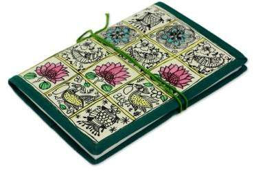 Madhubani Muse Handmade Journal from India