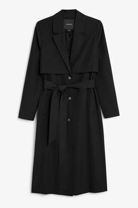 Monki Soft trench coat