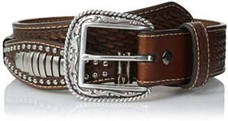 Ariat Men's Scallop Bar Concho Belt